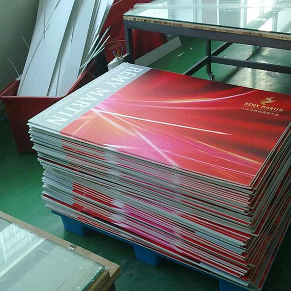 White rigid foam board sign printing with high density as advertising promotion sign display
