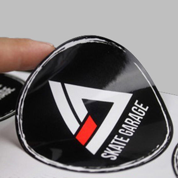 Vinyl sticker label printing with different vinyl labels material:PVC(polyvinyl chloride sheet) PET(Polyethylene Terephthalate), PC(Polycarbonate sheet),also for crystal sticker,plastic dripping label